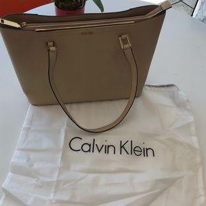 Authentic Calvin Klein shoulder/tote bag